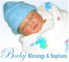 Baby blessings and baptisms by Patricia Painter